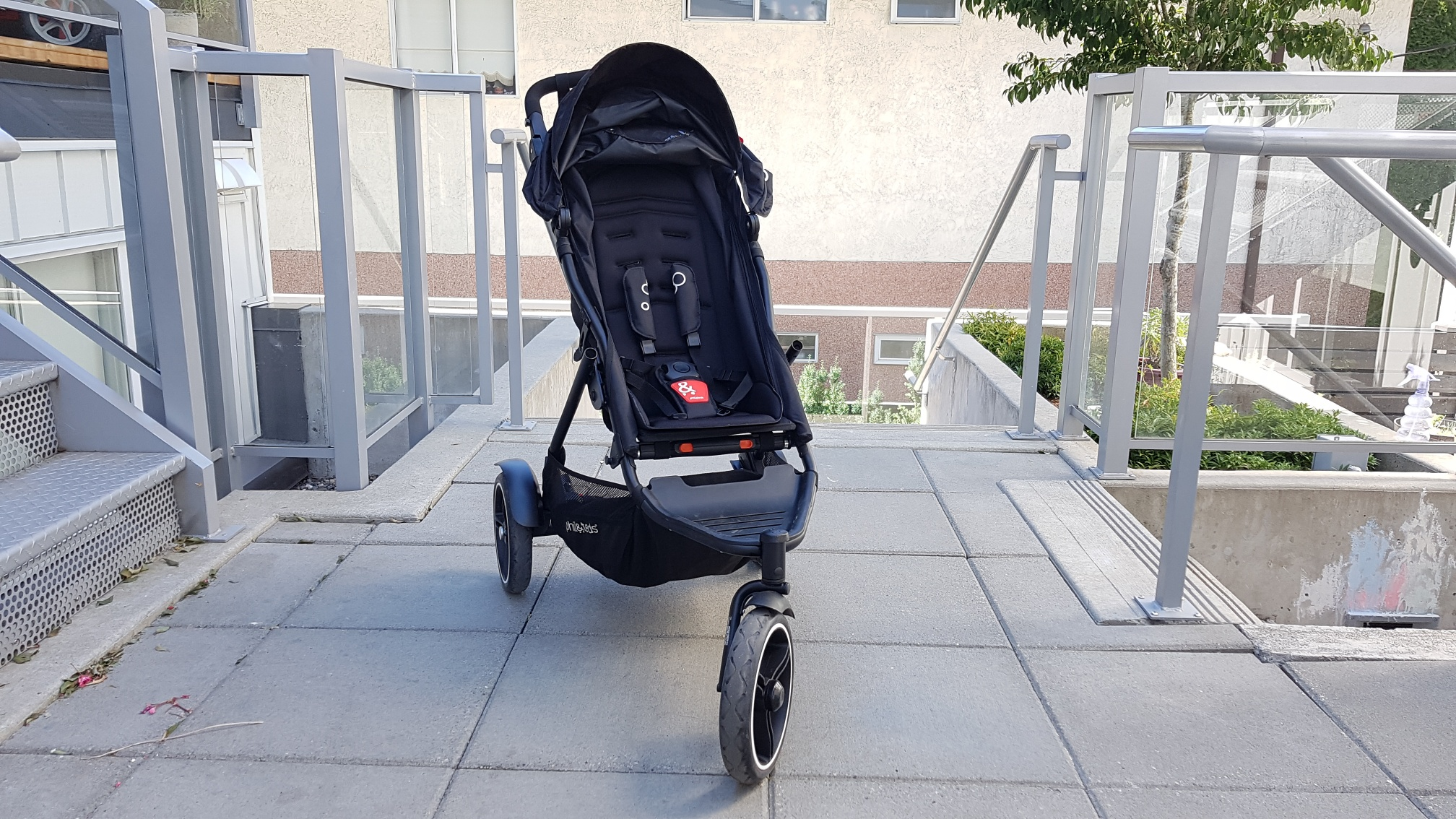 phil&teds Dot V3 Double Stroller front view