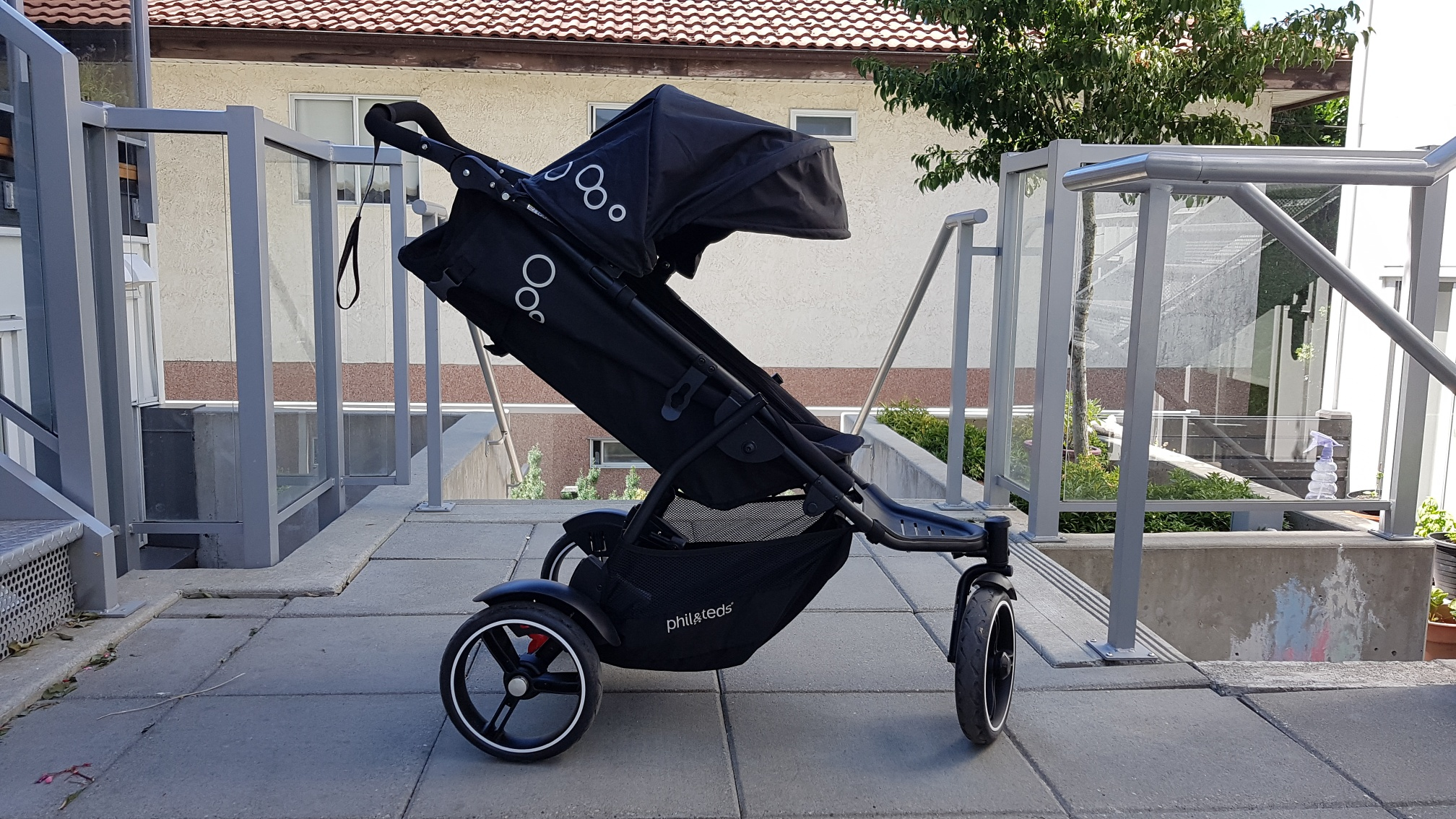 phil&teds Dot V3 Double Stroller side view