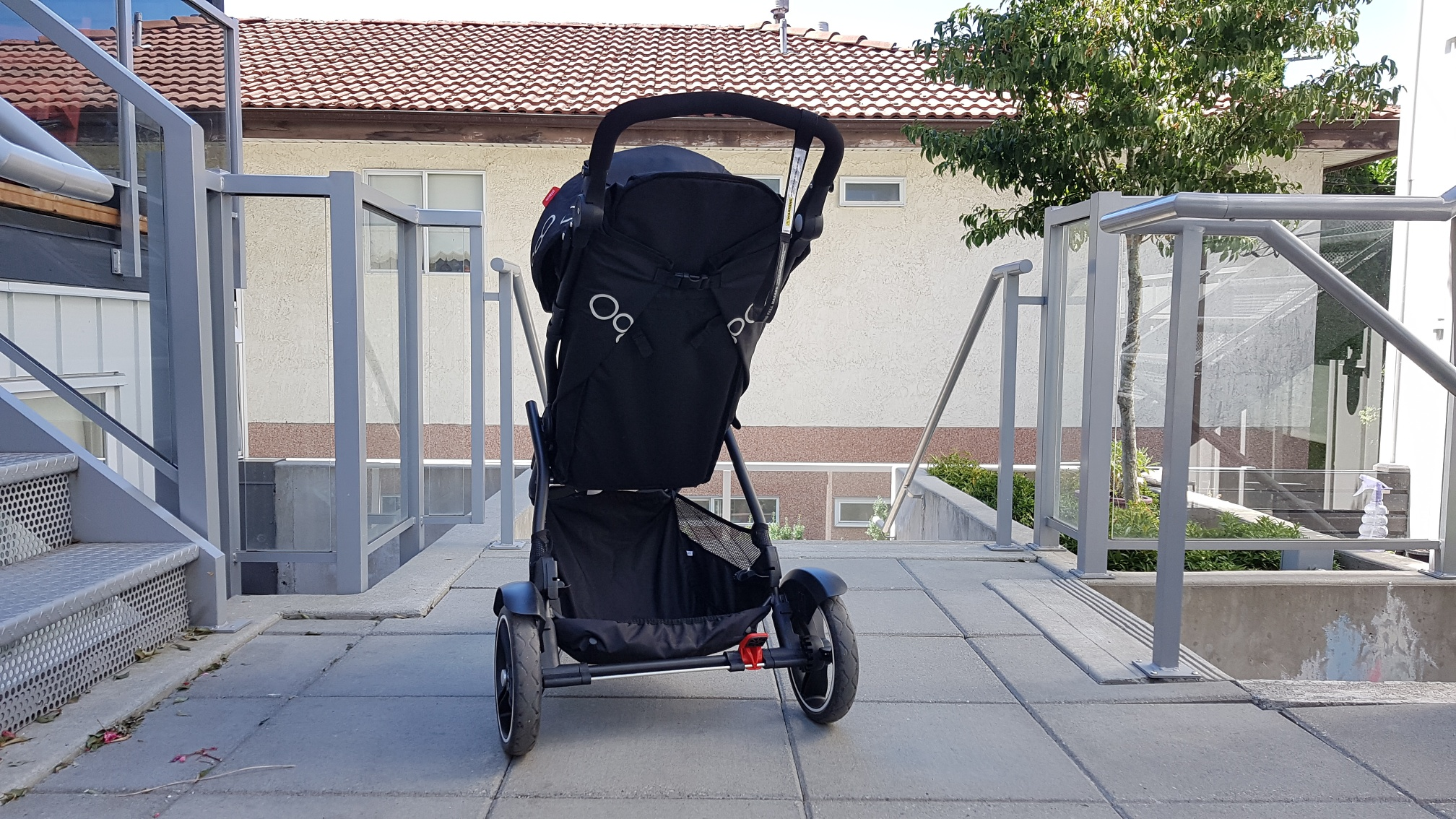 phil&teds Dot V3 Double Stroller rear view