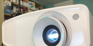 jvc lx-uh1 projector review