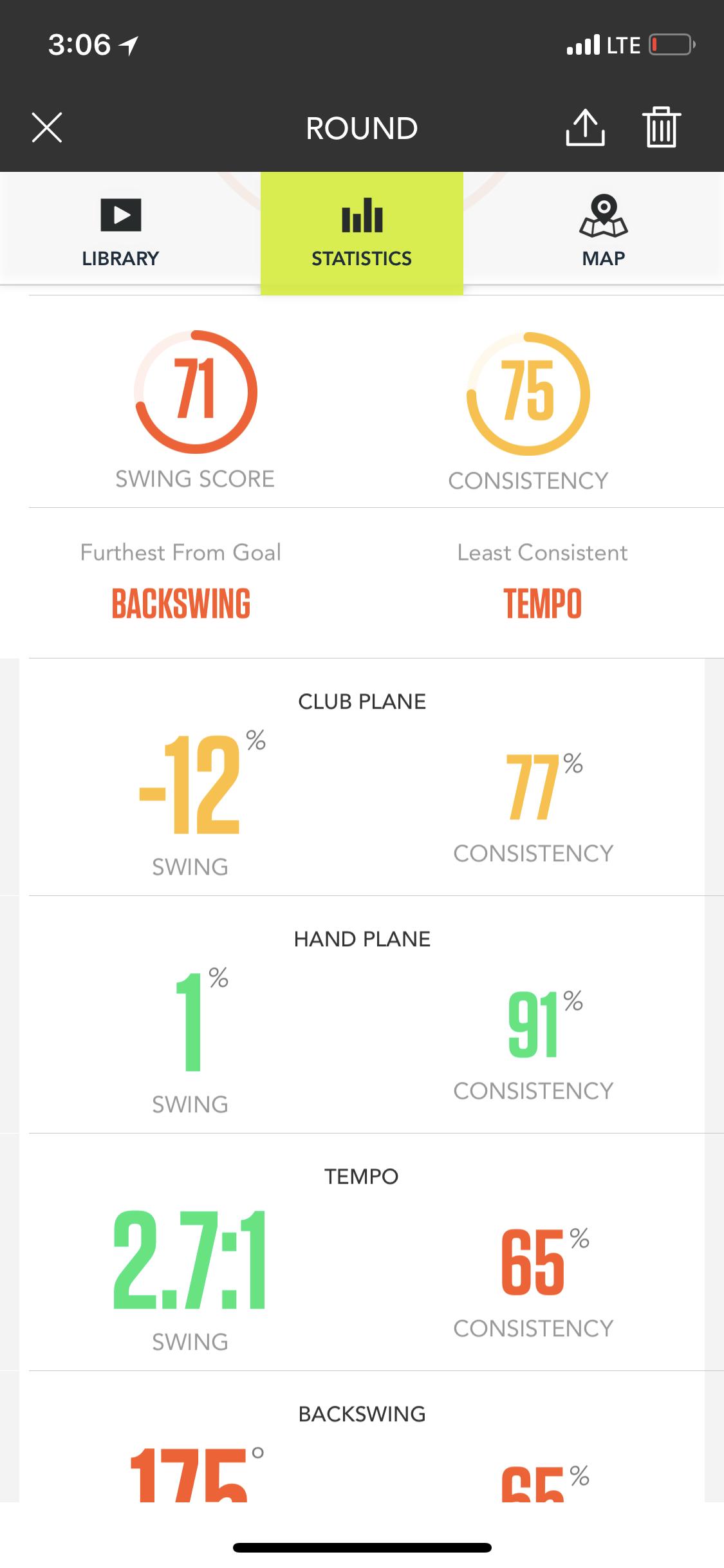 zepp 2 golf - app