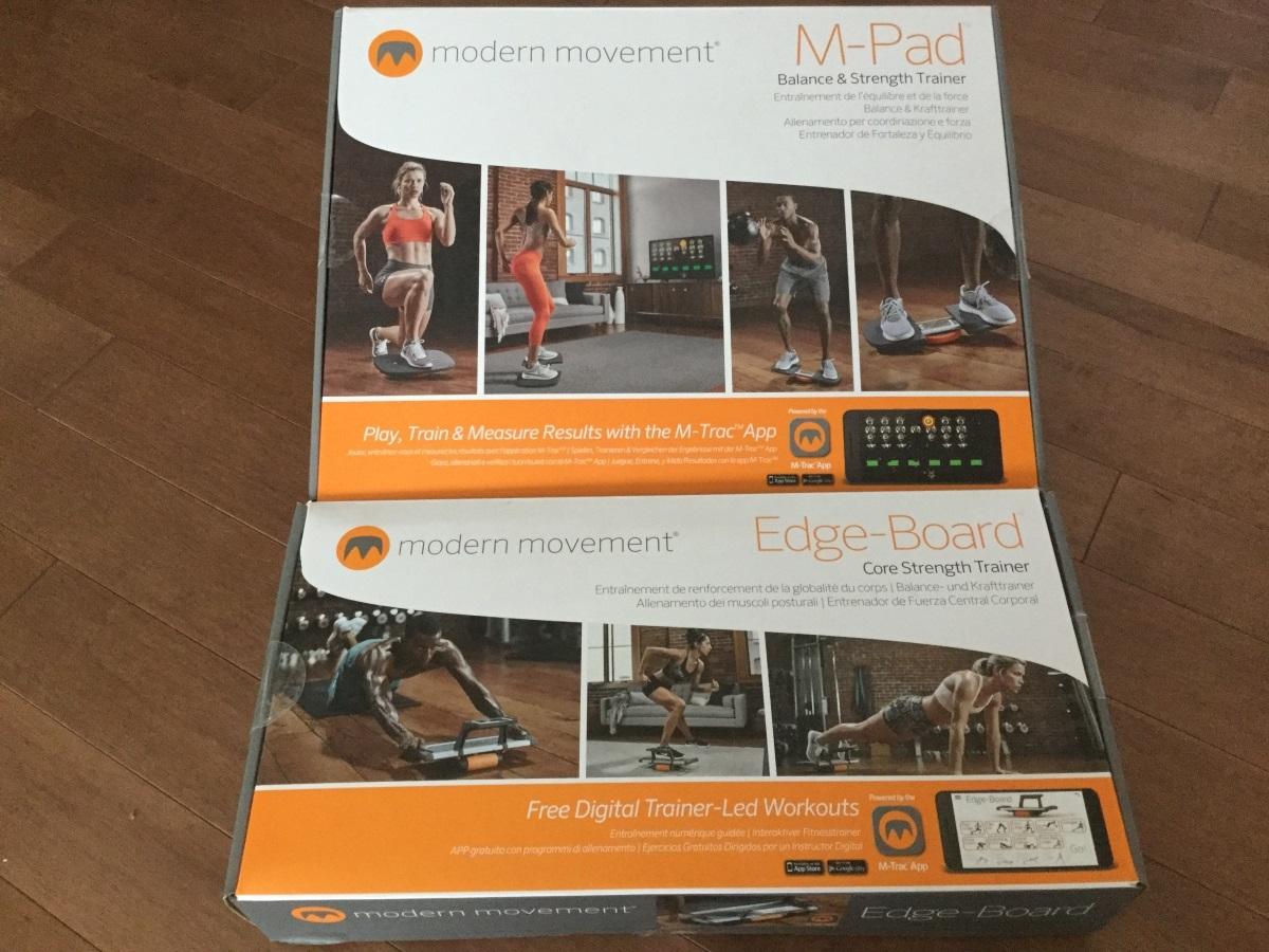 Modern Movement: m-pad and Edge-board
