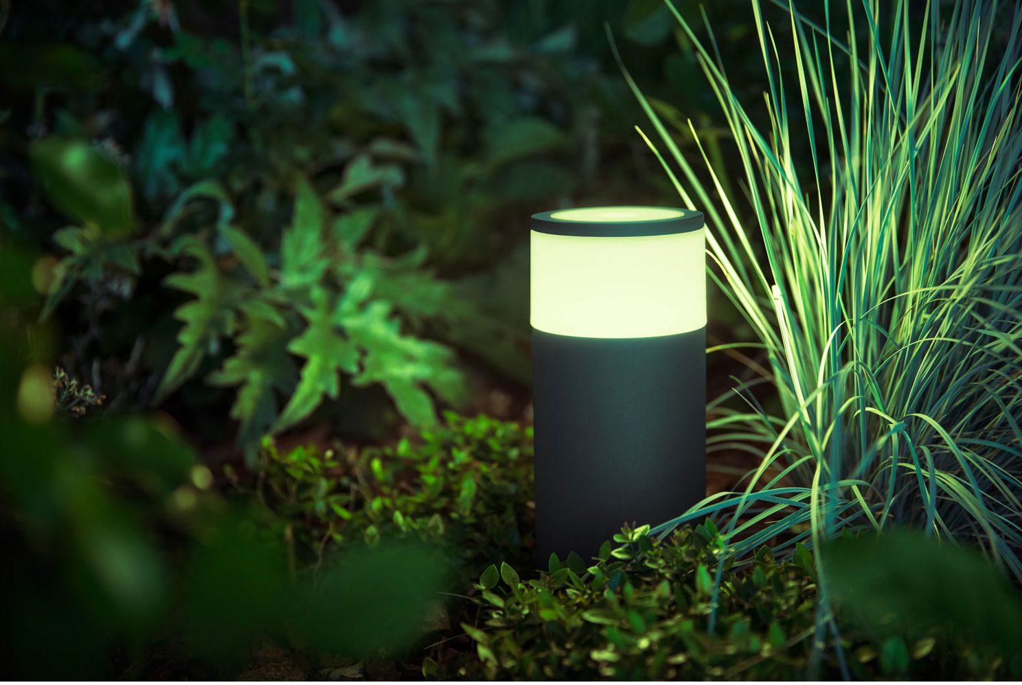 lampes d'extérieur Hue de Philips - calla