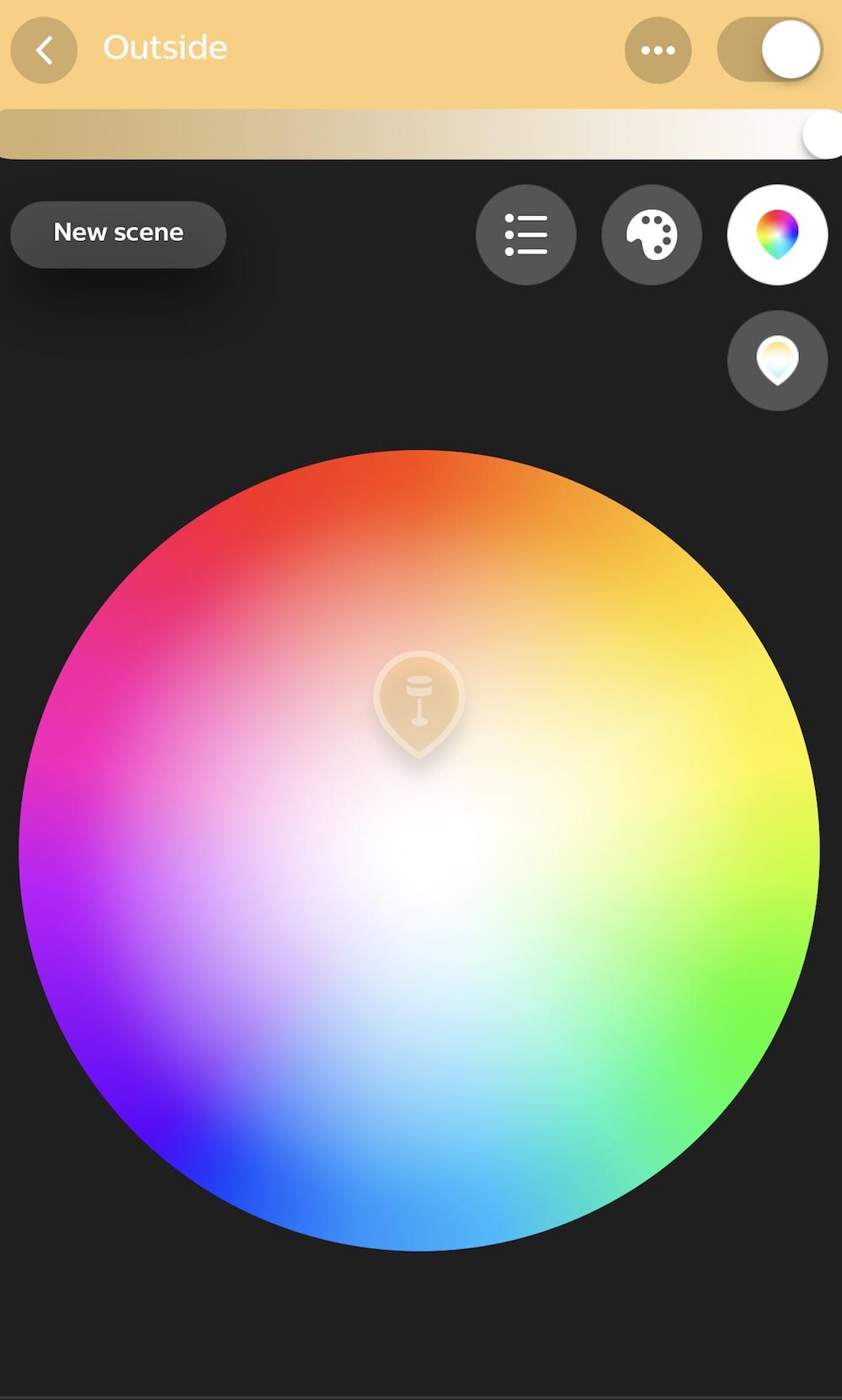 Philips Hue app light control copy