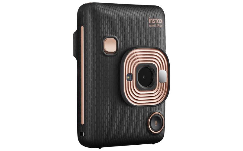 A photo of the Fujifilm Instax Mini LiPlay Instant Camera