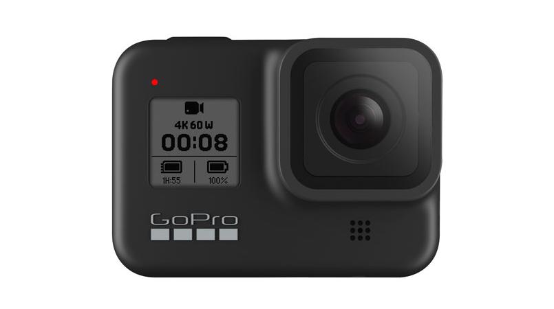 A photo of the GoPro HERO8 Waterproof 4K Sports Helmet Camera - Black