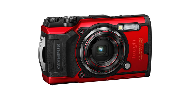 A photo of the Olympus Tough TG-6 Waterproof Shockproof Wi-Fi 12MP 4x Optical Zoom Digital Camera