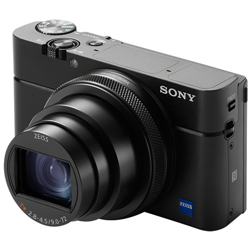 A photo of the Sony RX100 VI