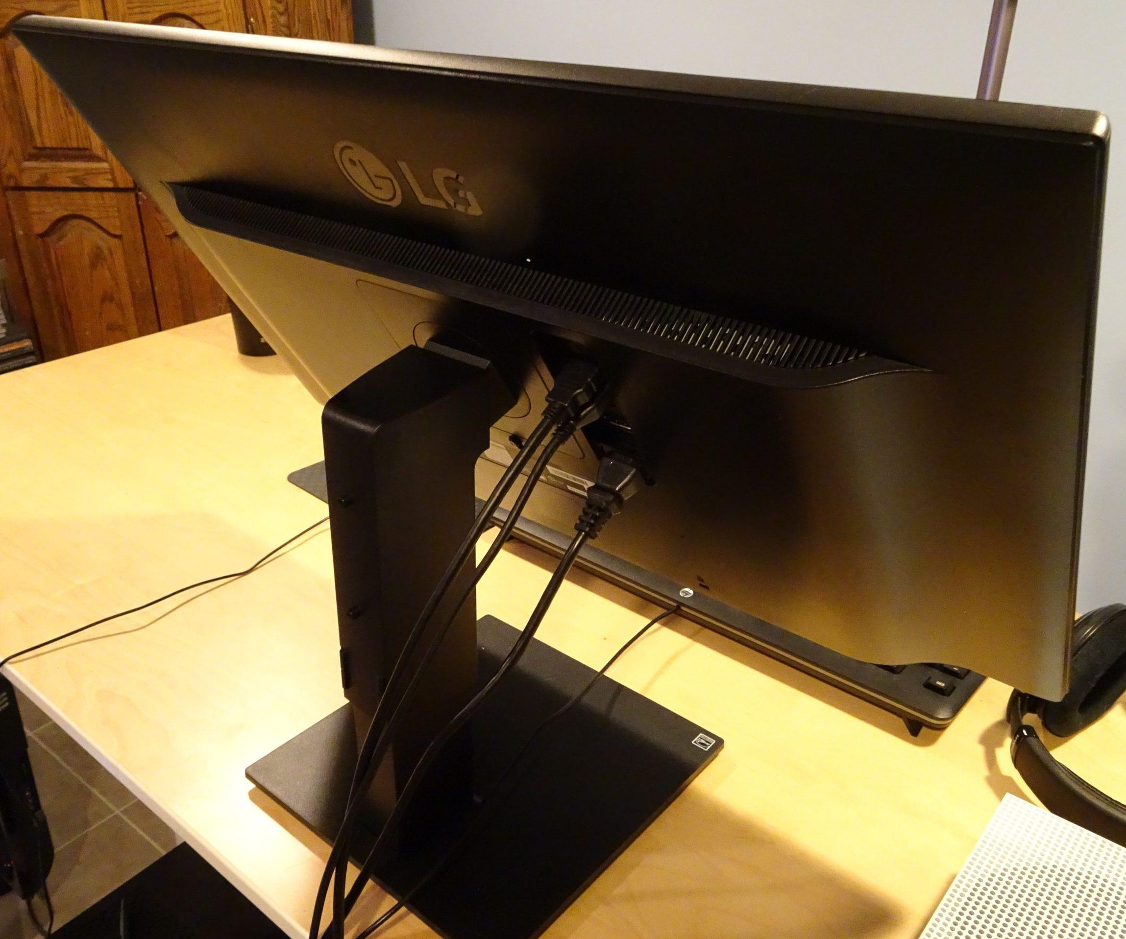 LG 4K UHD FreeSync Gaming Monitor 27UD59P Full