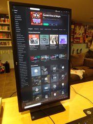 LG 4K UHD FreeSync Gaming Monitor 27UD59P Portrait