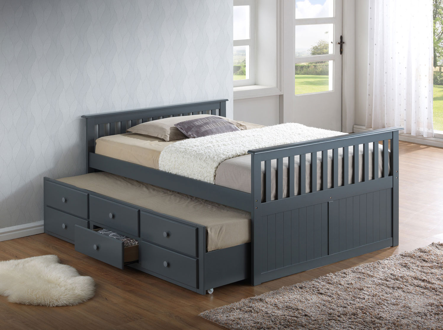 toddler beds - broyhill kids captains bed