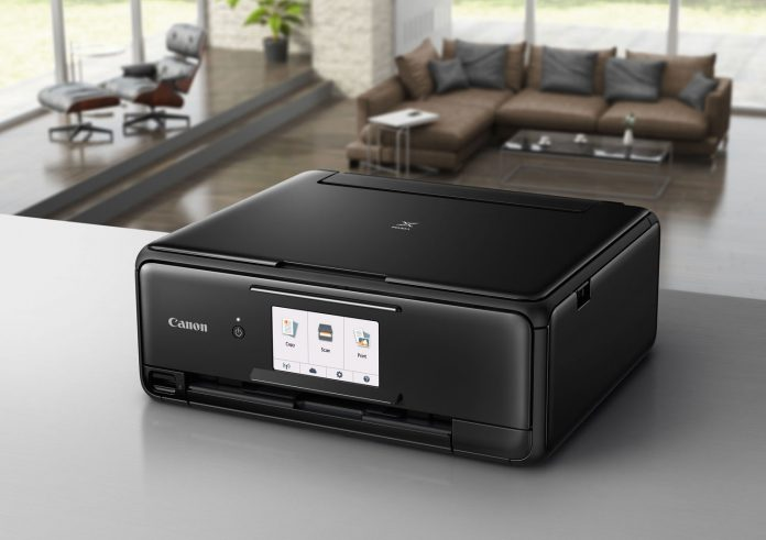 printer buying guide - canon pixma all in one printer lead photo