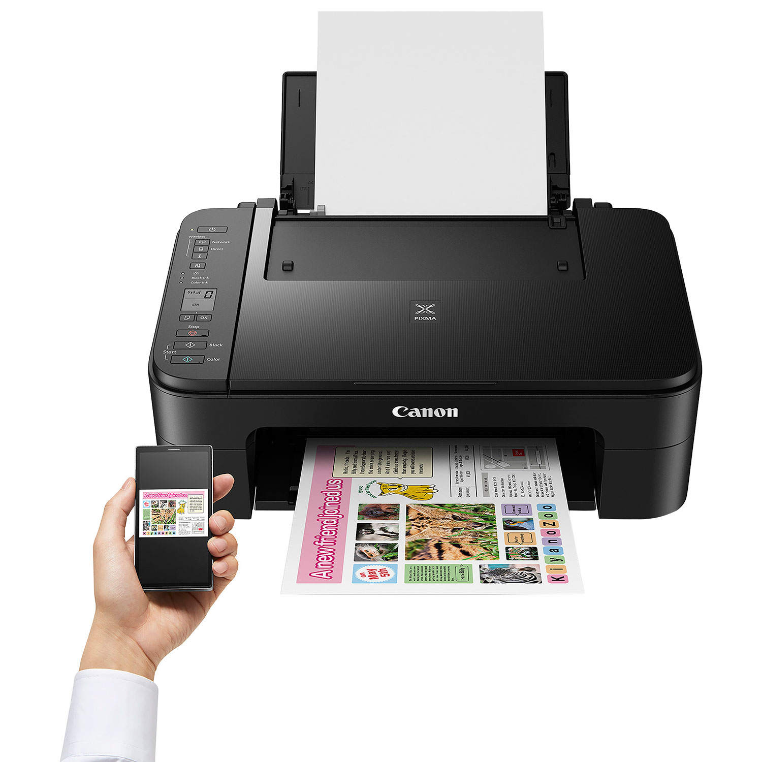 printer buying guide - canon pixma mobile printing