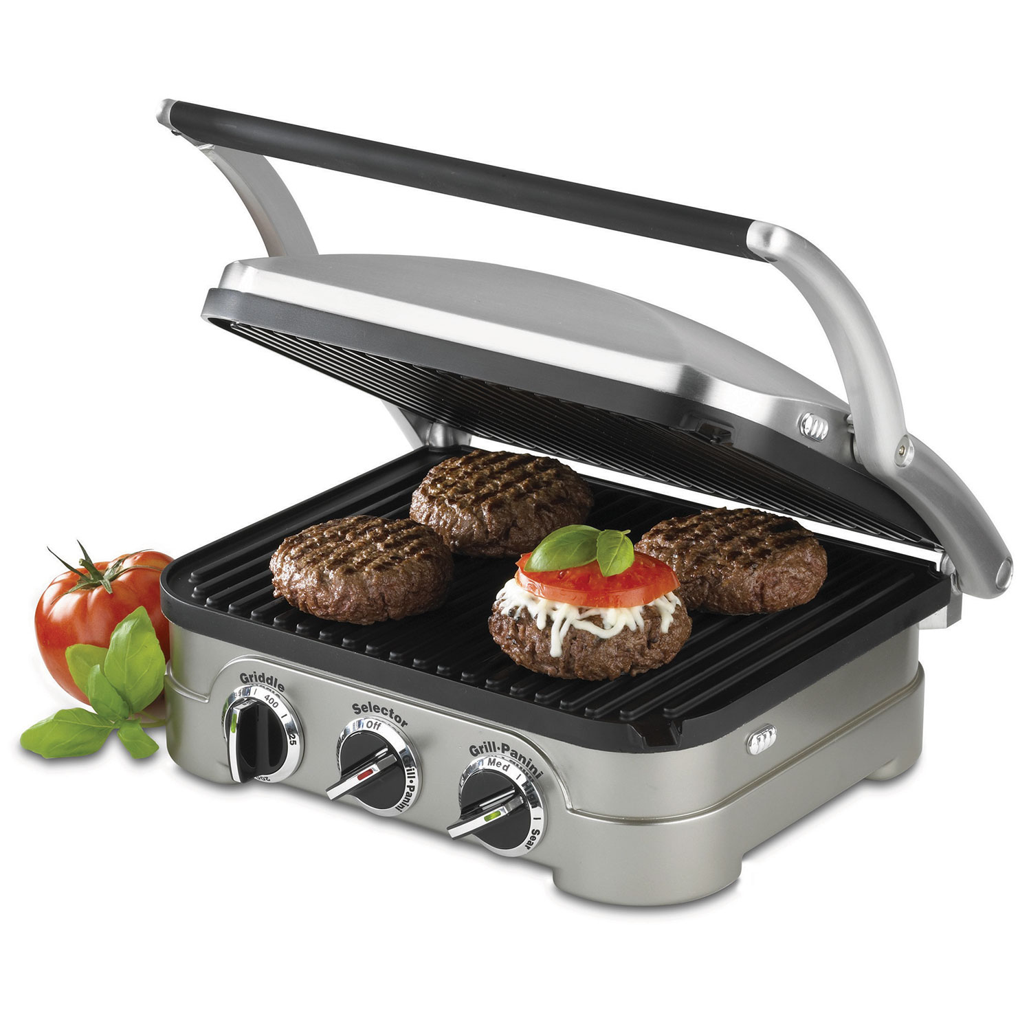 fast and easy dinners - cuisinart non stick griddler