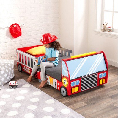 toddler bed - kidkraft firetruck toddler bed