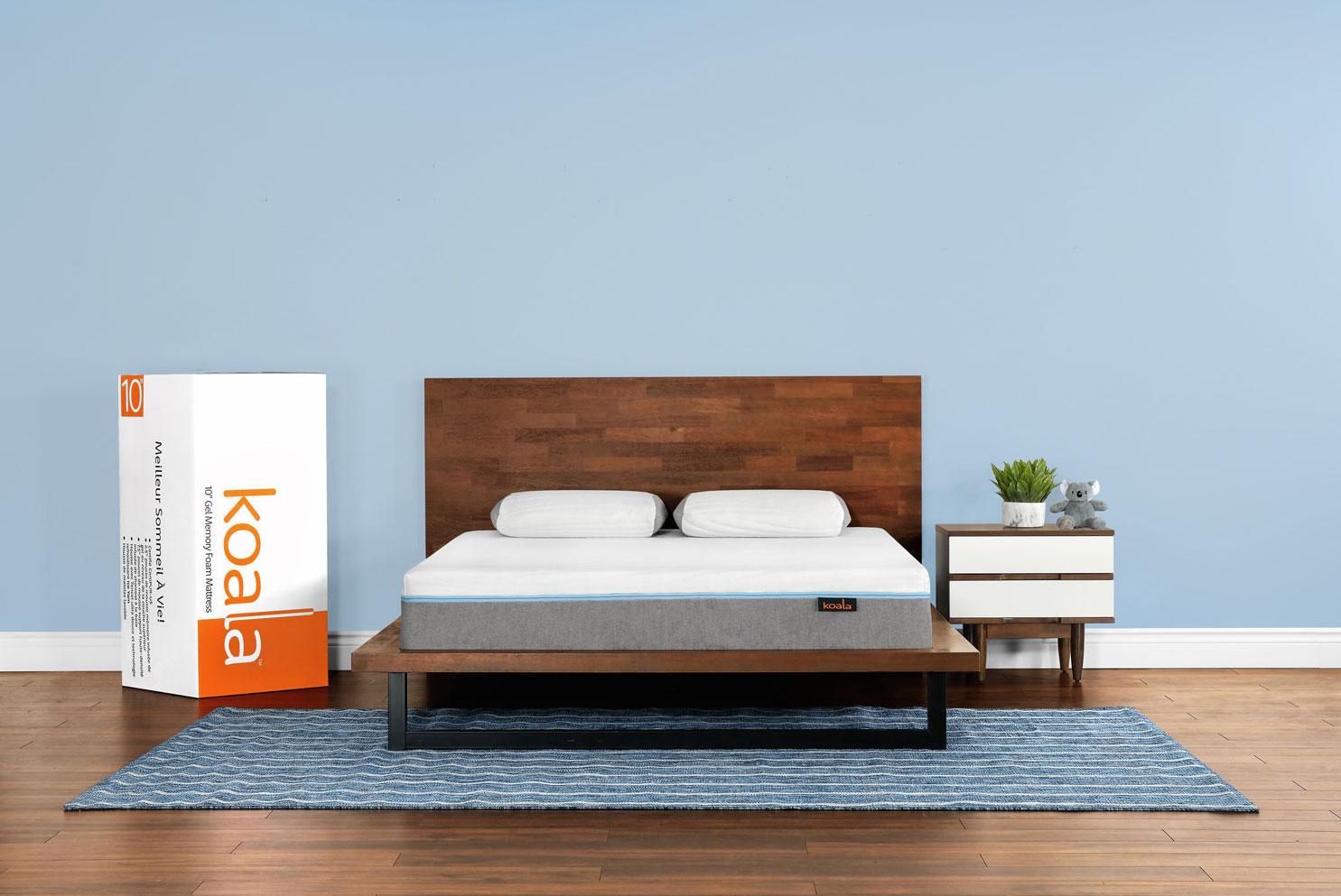 koala mattress review - koala mattress in a box stock pic