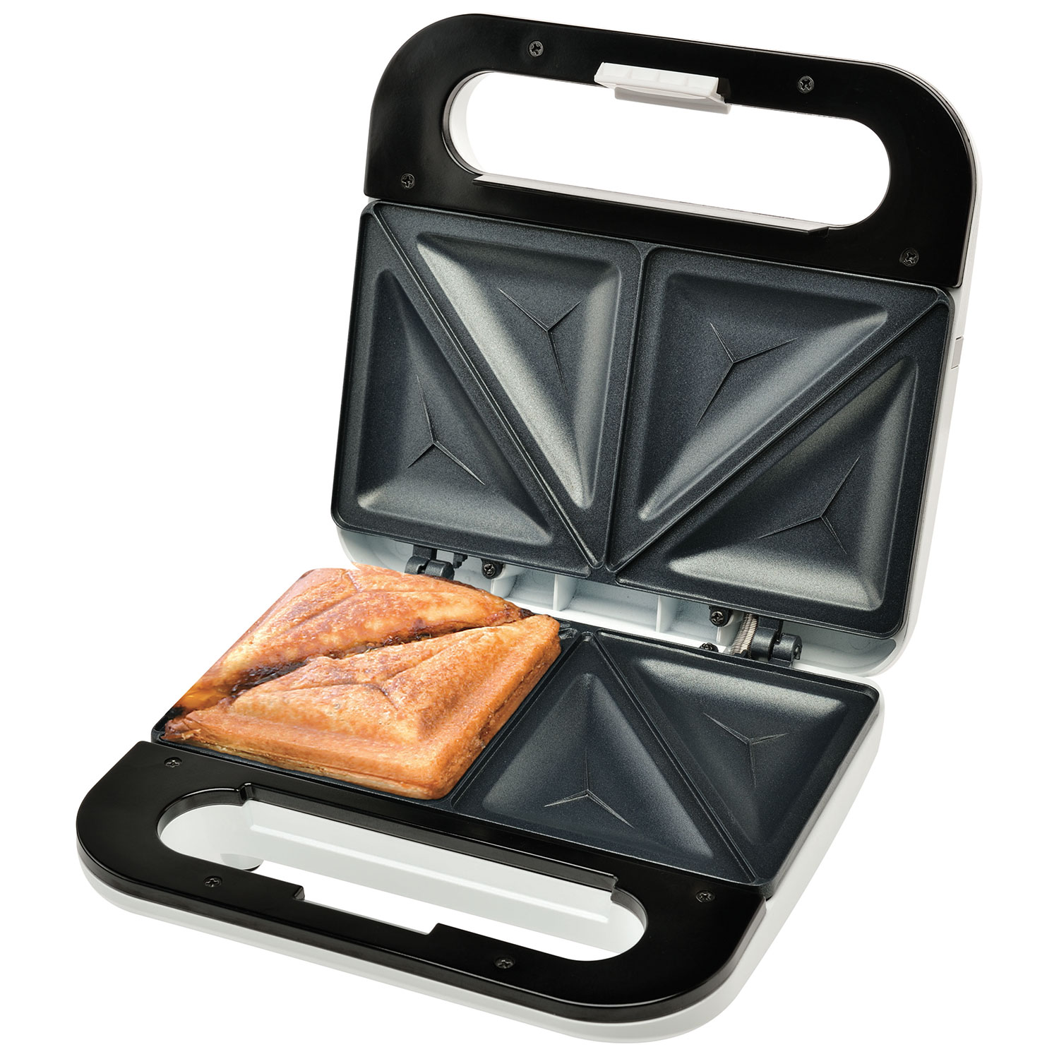 fast and easy dinners - salton sandwich maker