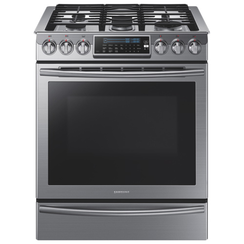 cuisinière au gaz