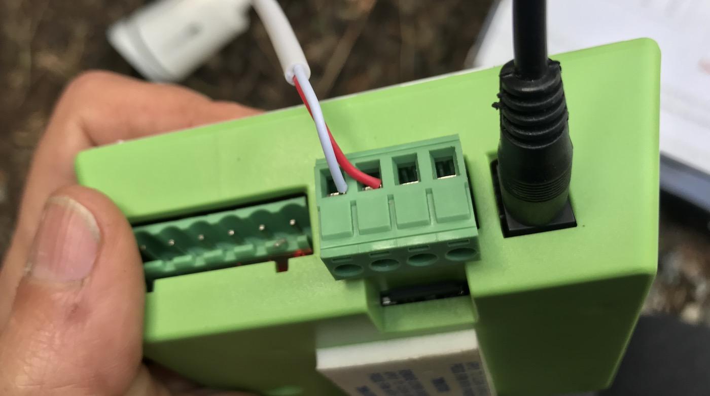 Gogogate 2 wiring instructions