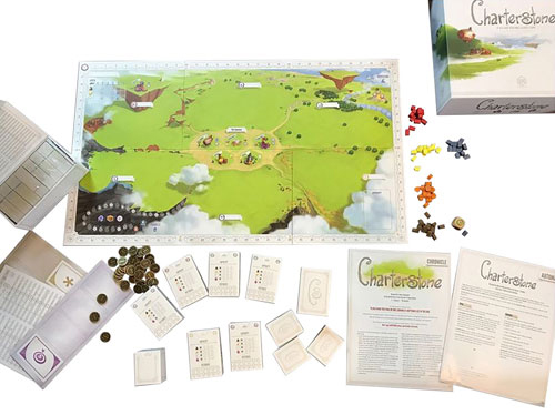 Charterstone game contents