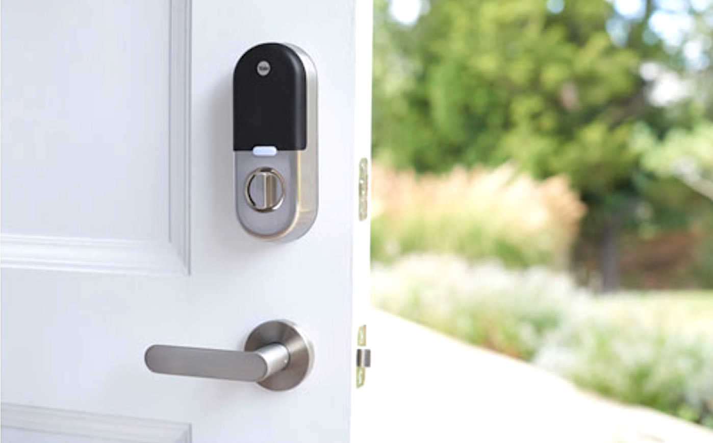 security smart door locks by Yale