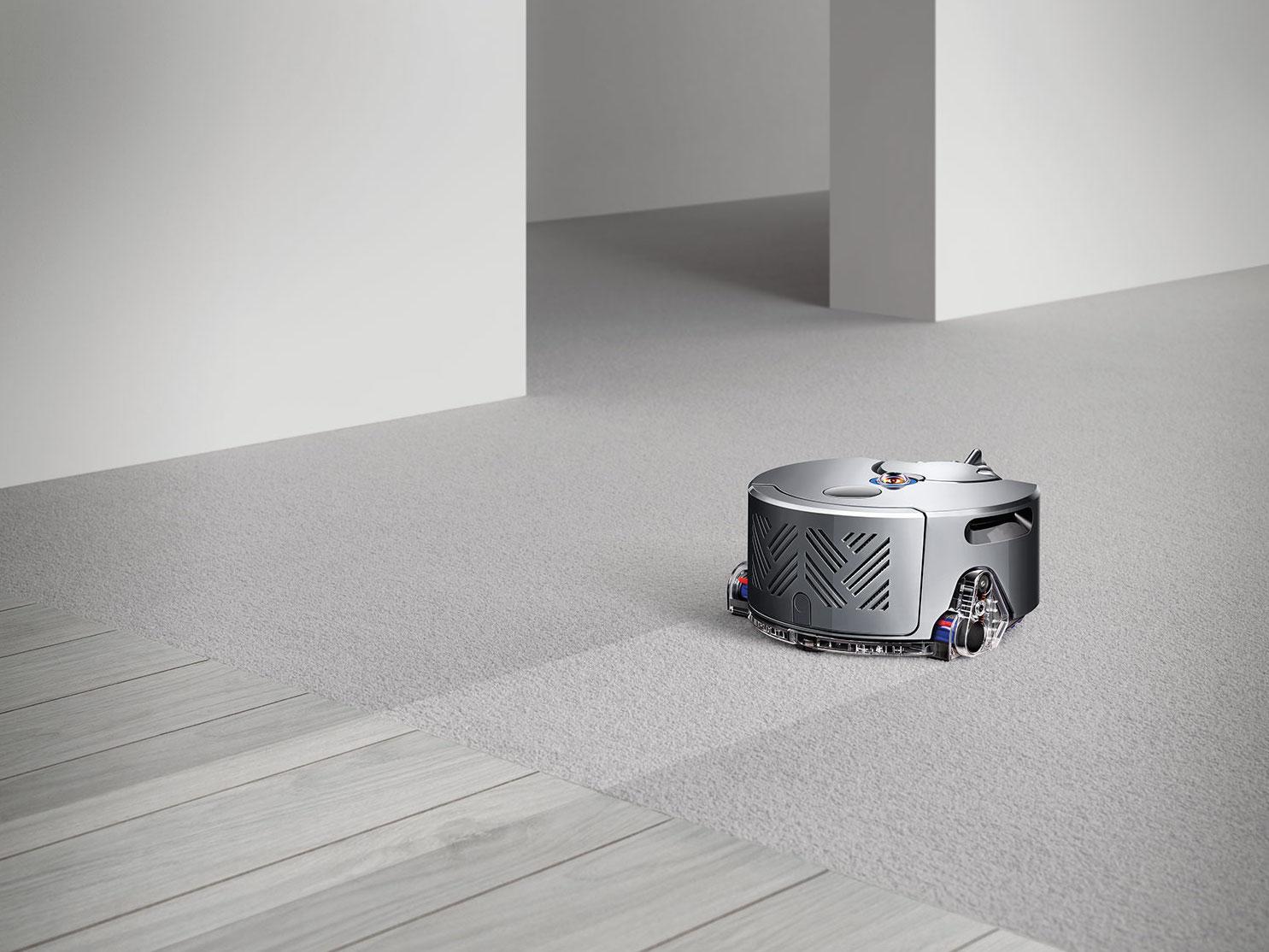 robot vacuum - dyson 360 eye carpet