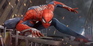 PS4 gaming Spider-Man amazing
