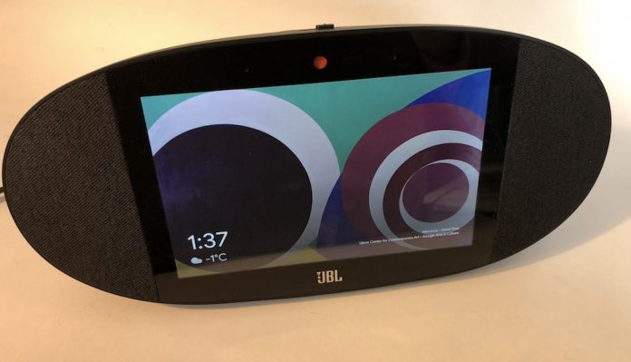 JBL Link View smart speaker