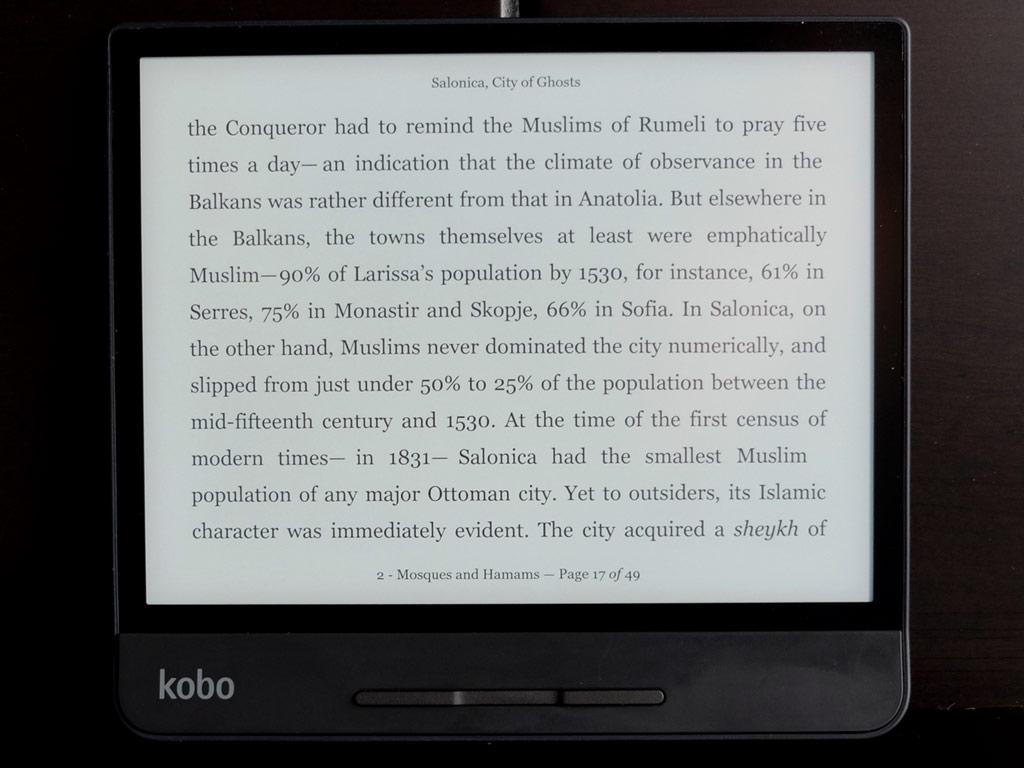 Kobo Forma eReader review | Best Buy Blog