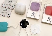 Livia Menstrual pain block - smart device