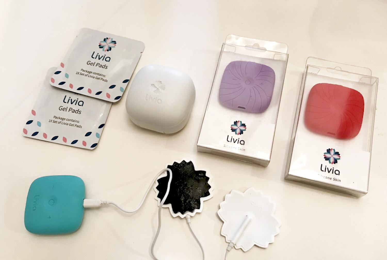 Livia Menstrual pain block - smart device