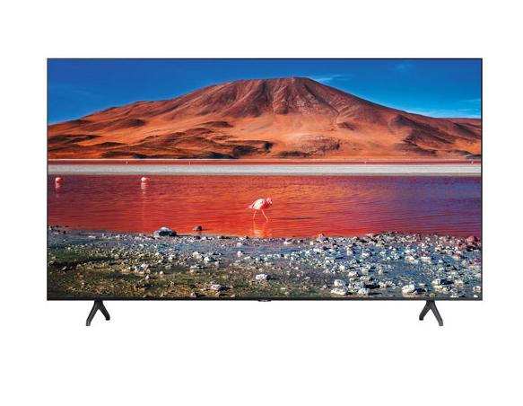 "Samsung 50"" 4K UHD HDR LED Tizen Smart TV (UN50TU7000FXZC) - Titan Grey"