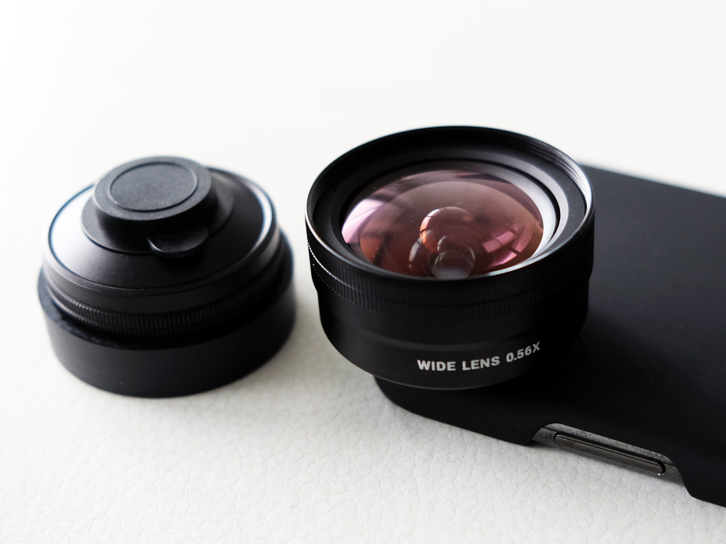 sandmarc lense for iphone - wide lense