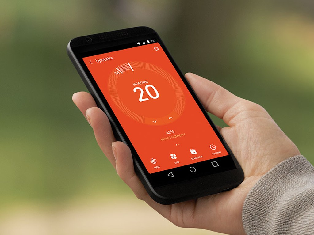 winter s coming better get a smart thermostat is part 11 of 12 months of smart home. Black Bedroom Furniture Sets. Home Design Ideas