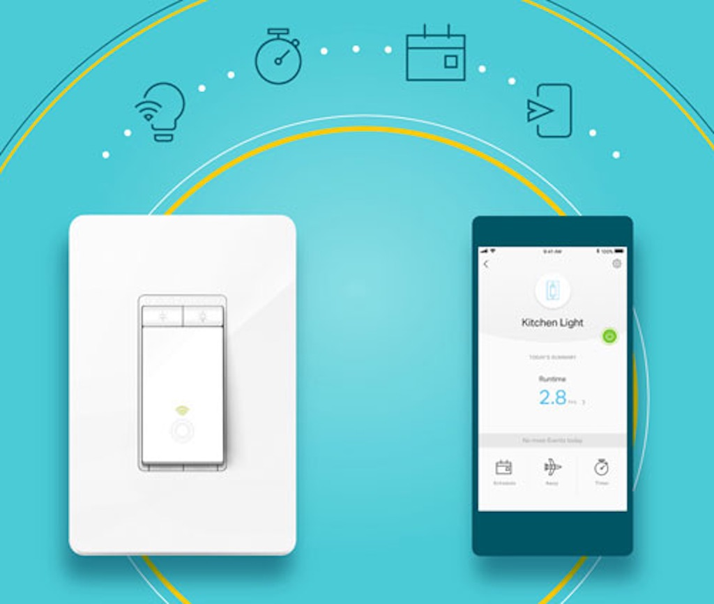 A Closer Look At The Tp Link Brand Family Best Buy Blog Hall Effect Switchjpg As For Features And Specs This Wired In Switch Allows You To Turn Your Lights On Off Well Adjust Their Brightness Desired Level Any