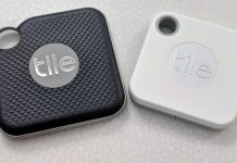 Tile Pro and Tile Mate tracker