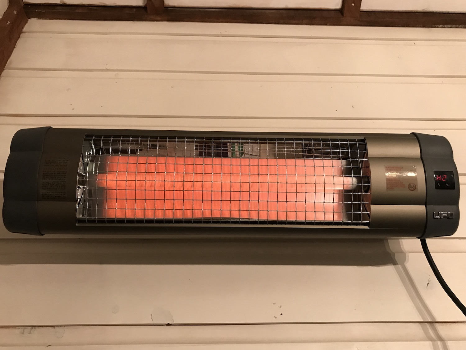 UFO Electric Infrared Heating