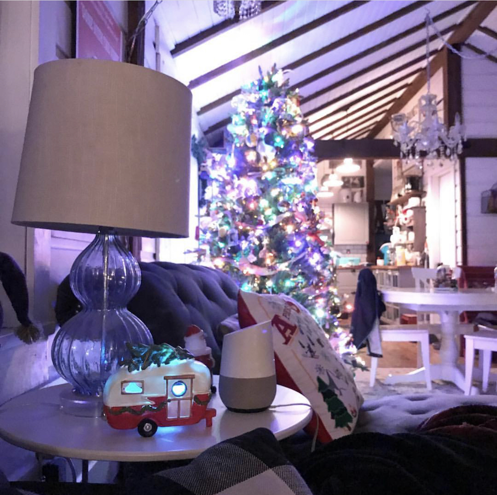 google home christmas