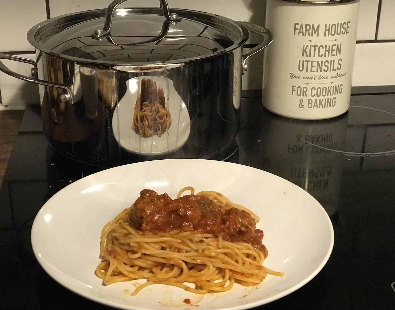 spaghetti sauce Cuisnart Stock pot
