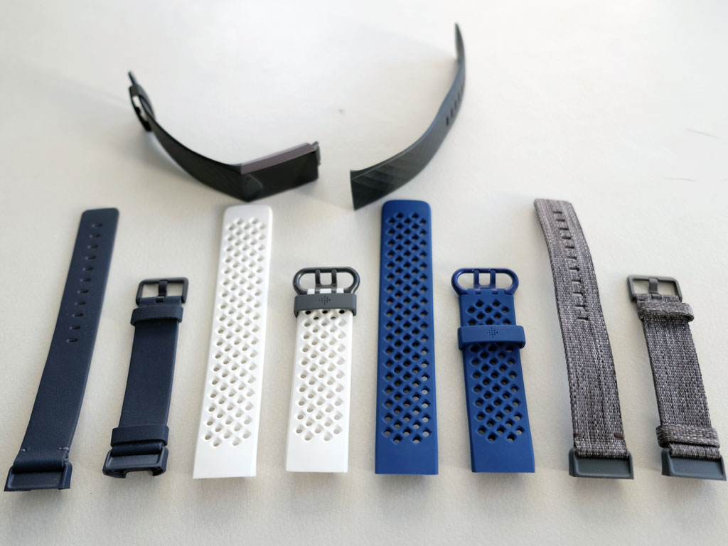 fitbit charge 3  arm bands