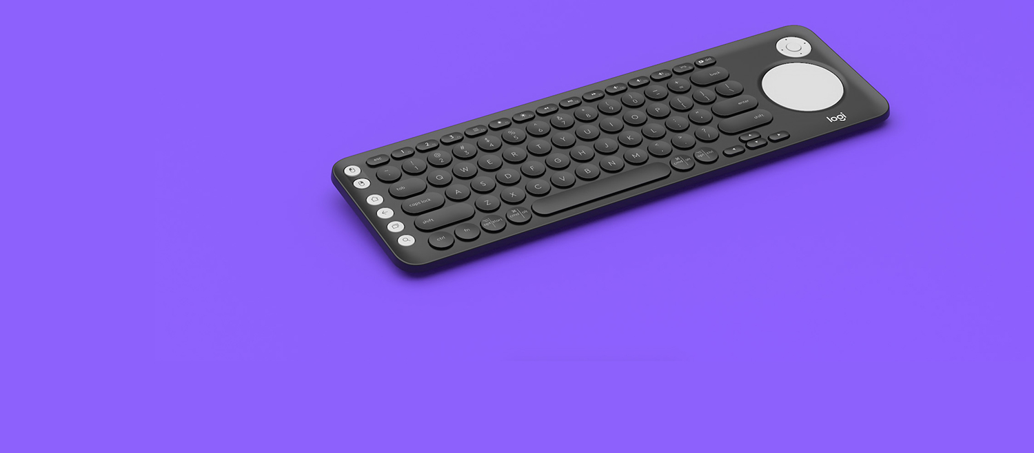 cff52a9f06d Logitech K600 TV Keyboard with Integrated Touchpad and D-Pad | Best ...