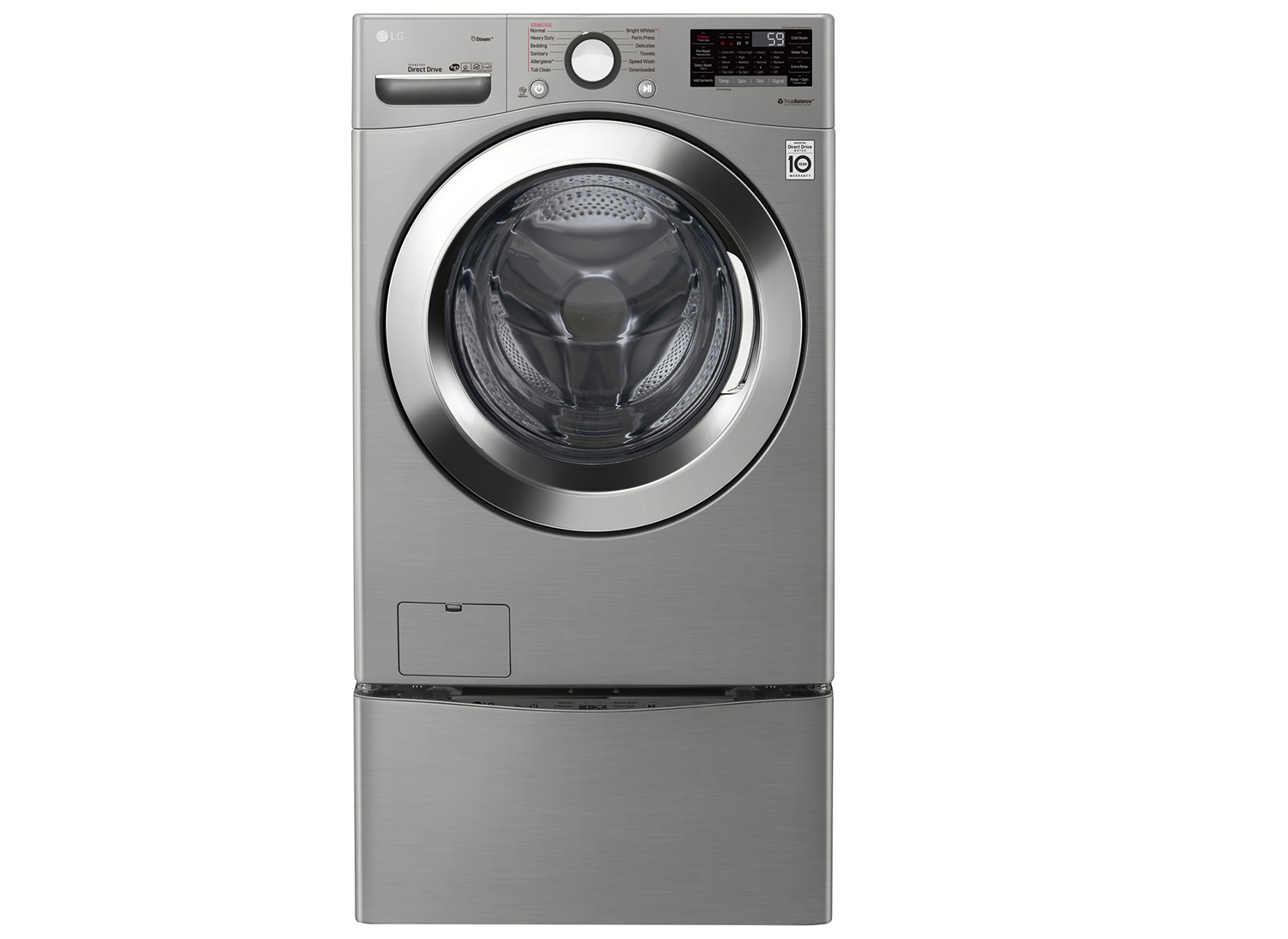 LG SmartthinQ steam washer