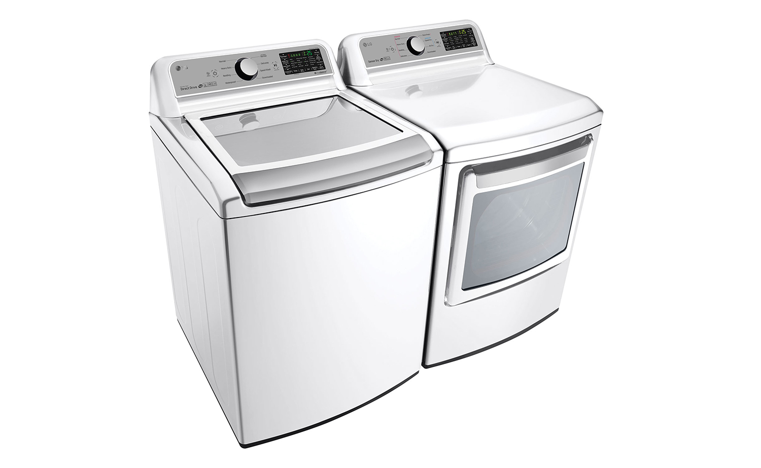 LG SmartthinQ laundry pair