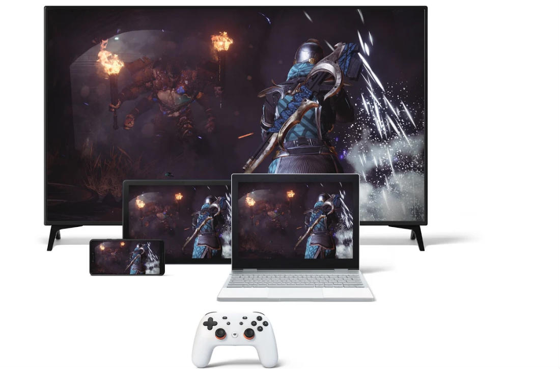 Stadia at home or on the go