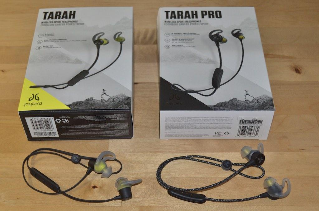 Tarah Pro de Jaybird vs Tarah