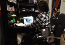 betterback posture support review - at desk
