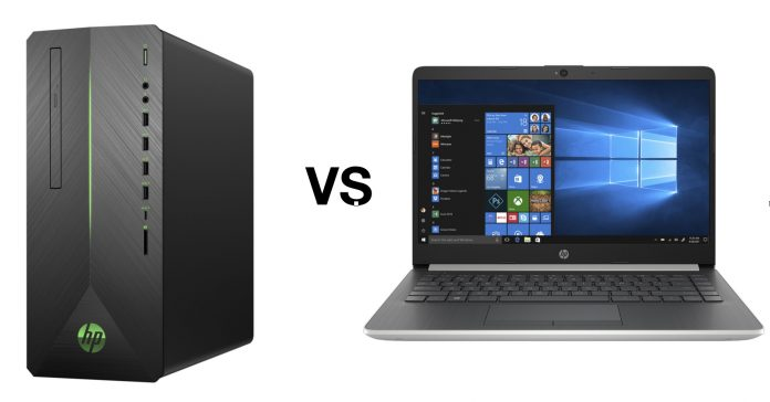 Image showing a PC and a laptop