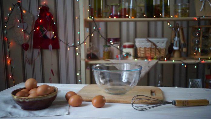 festive kitchen