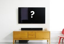 A picture of a wall-mounted TV screen