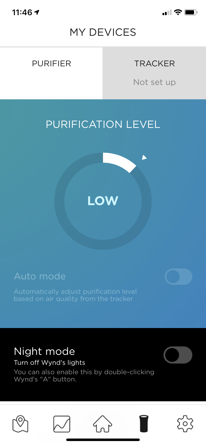 wind essential air purifier review - wynd essential air purifier app